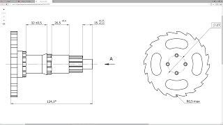Solidworks. Урок 13.1 ДОПУСКИ и ПОСАДКИ размеров по ГОСТ ЕСКД - создание чертежа