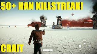 Star Wars Battlefront 2 - HUGE Han Solo 50+ Killstreak! | Were my shots not registering?