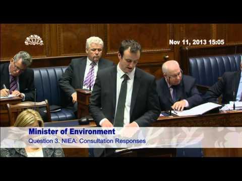 Environment Monday 11 November 2013 Question Time