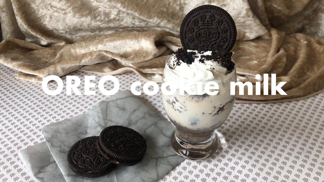 オレオ クッキー ミルク