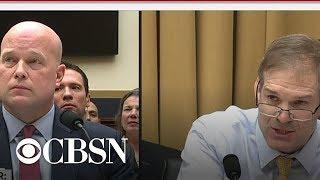 Rep. Jim Jordan questions Matthew Whitaker