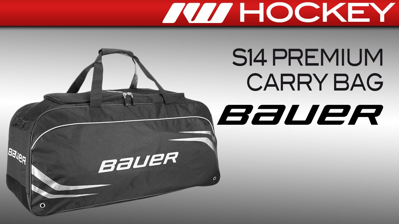 adde7f232c7 Bauer S14 Premium Carry Hockey Bag Review - YouTube