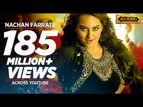 nachan farrate video song ft sonakshi sinha all is well meet bros kanika kapoor