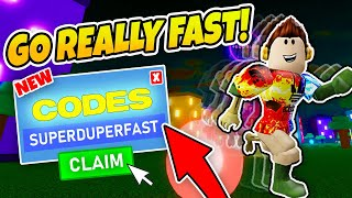 NEW CODES LEGENDS OF SPEED (Roblox)