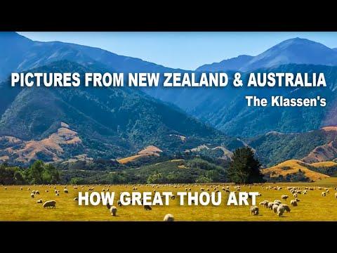Eduard & Christine Klassen New Zealand & Australia tour 2015