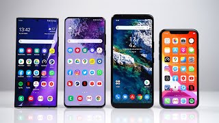 Samsung Galaxy Note 20 Ultra vs S20 Ultra vs ASUS ROG Phone 3 vs iPhone 11 Pro - Benchmark | SwagTab