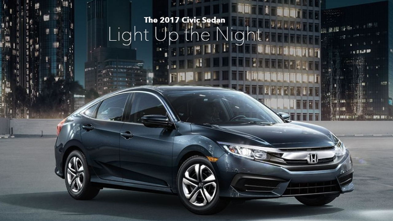 New 2017 Honda Civic Sedan Full Review Exterior And Interior Features Aggressive Lines Refined