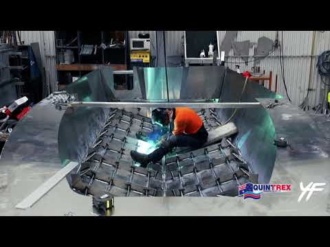 Quintrex Plate Boat Construction - 7600HT Yellowfin