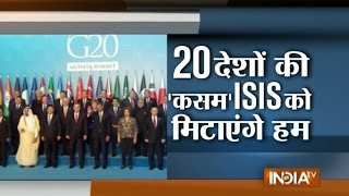 G20 Summit: World Leaders Join Hands against Terrorism in Turkey after Paris Attacks