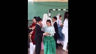Acto de 25 de mayo Cami baila el Vals !!!