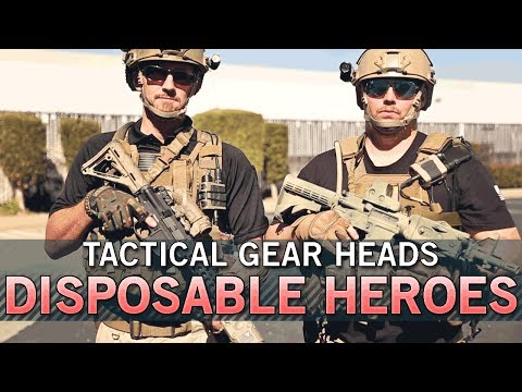 Team Disposable Heroes Tactical Gear Heads - Eagle Industries and More! | Airsoft GI