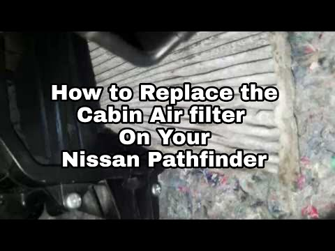 2018-nissan-pathfinder-how-to-replace-cabin-air-filter-/-maintenance