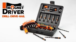 Kickstarter | Magnet Driver™ DDN: The Total Tool to Drill, Drive and Nail. (Full Version)
