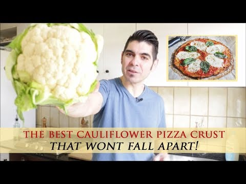 Easy Cauliflower Pizza Crust Recipe That Won´t Fall Apart