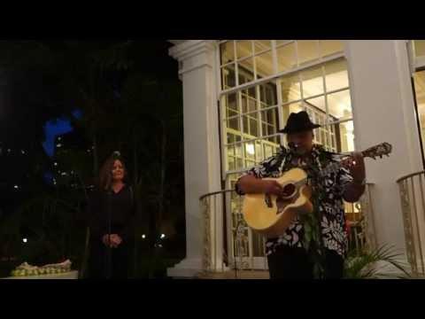 Amy Hanaialii & Willie K perform at Washington Place