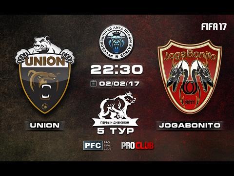 UNION - JogaBonito   Pro Clubs   RLPC   5 Matchday/14 Season