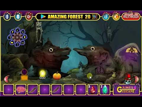 Halloween Night Forest Escape Walkthrough G4e Youtube