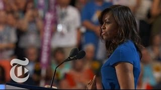 Michelle Obama's Convention Speech | The New York Times