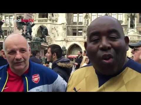 Gooners In Munich Ft Claude   Bayern Munich v Arsenal