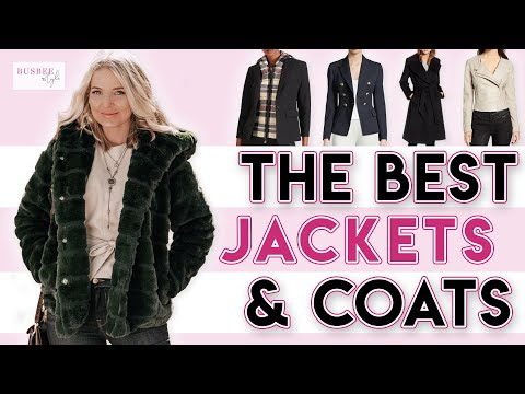 My Top 10 Favorite Coats & Jackets Of 2019!