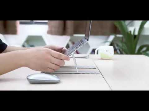 Blackmed Multi-Angle Aluminum Laptop Stand