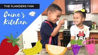 Easy Smoothie Recipe for Kids!   Caine's Kitchen