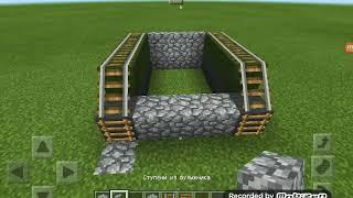 видео: Как построить танк в Майнкрафт.