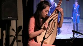 Trio Improvisation 2014   Zhao Cong, Ellen Waterman, Viv Corringham 世界网络音乐会即兴三重奏