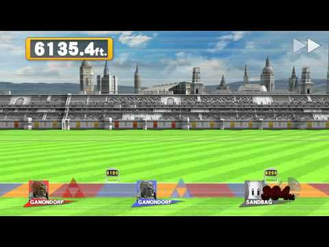 SSB4 Co-op Home Run Contest 20,994 ft.
