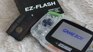 Game Boy Advance - EZ Flash Omega - Ultimate Flash Cart / Nintendo GBA Multi Game Cart