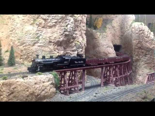 Coal Train to Spring. On3 D&RGW - Spring Division