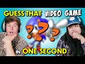 Guess That Game In One Second Challenge | Teens & Adults React