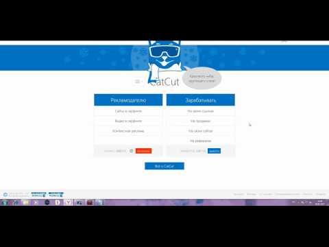 видео: Как заработать на укорачивании ссылок catcut