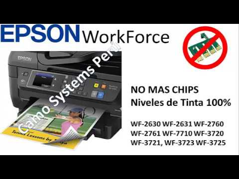 Firmware Epson workforce sin chip