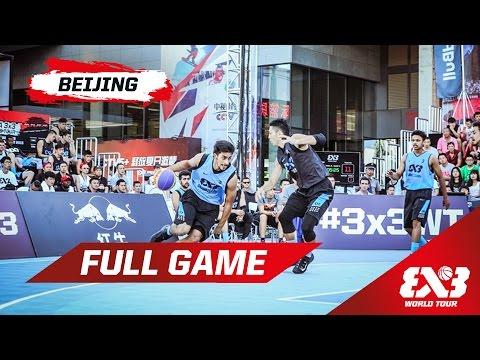 Chandigarh (IND) v Tokyo (JPN)  - Full Game - Beijing - 2015 FIBA 3x3 World Tour