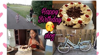 Practicing Bicycle + Birthday vlog || filipino mom in Netherlands