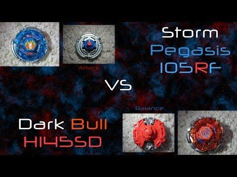 ᴴᴰ AMVBB: Storm Pegasis 105RF VS Dark Bull H145SD