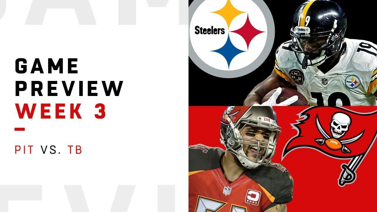 843b4720950 Tampa Bay Buccaneers Vs. Pittsburgh Steelers: Monday Night Football Week 3  TV Schedule, Odds, Picks