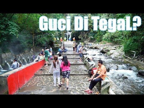 Jalan-jalan ke Wisata Guci, Tegal