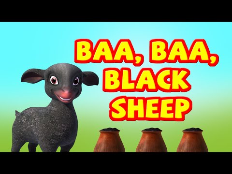 Baa baa black sheep Nursery rhyme for Children