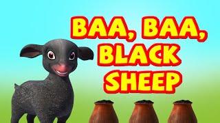 Baa baa black sheep Nursery rhyme for Children