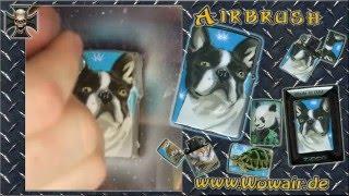 No.184  Airbrush By Wow  Zippo Bulldogge 2 Hd.mp4