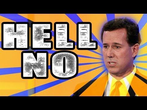 On Rick Santorum