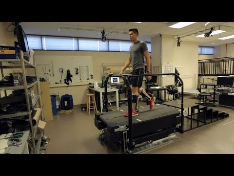 New exoskeleton really does put a spring in your step