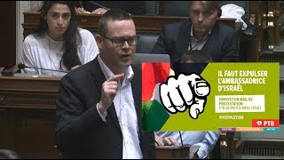 « Il est temps d'expulser l'ambassadrice d'Israël »