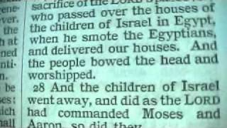Exodus 12 Holy Bible (King James)