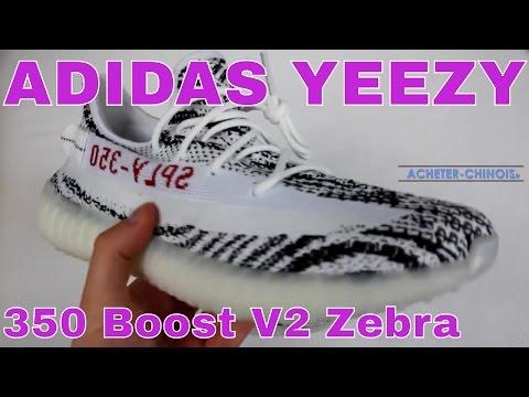 Test Yeezy Boost Aliexpress Adidas 350 Unboxingamp; V2 Zebra TclK31FJ