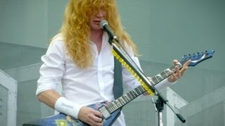 Obama Staging Mass Shootings, Says Megadeth Singer Dave Mustaine