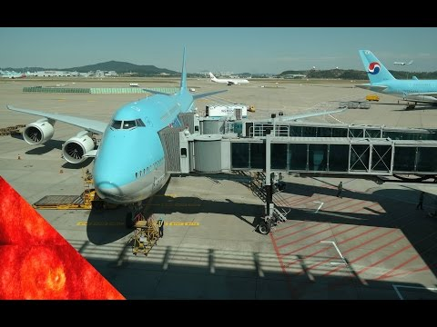 [Part.1]Korean Air New Business Class(prestige suite) 대한항공