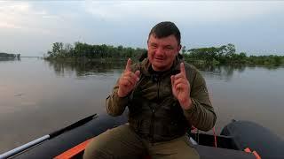 Рыбалка на краю света Эта зверюга пробила нам лодку Путешествие на Амур 4 серия